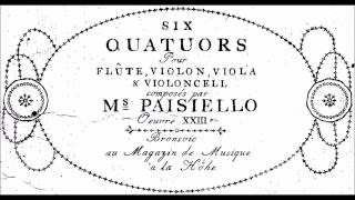 6 Quartets, Op. 23 for flute violin, viola & cello