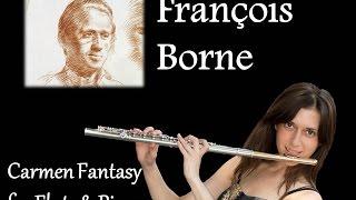 Fantasía de Carmen para flauta y piano