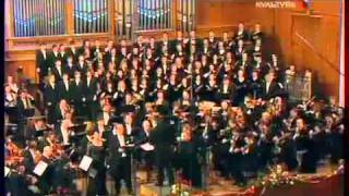 Christmas Oratorio. Finale.