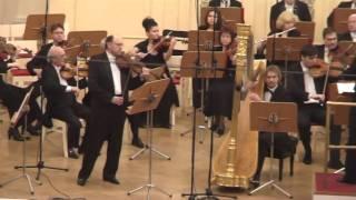 Concertino vor violin & harp with orch - I Mov