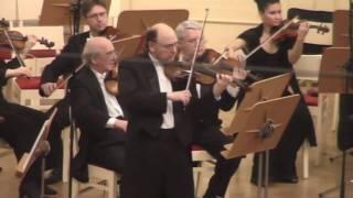 Concertino vor violin & harp with orch - II, III Movs