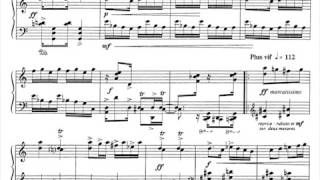 Six chansons for piano