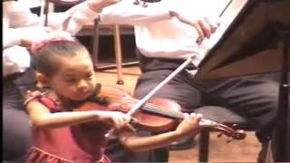 Violin Concerto (1/2) (6 years old)