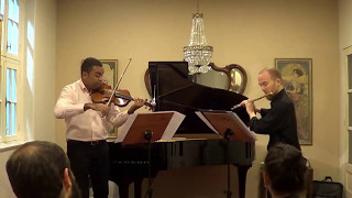 Duetto in D major, flute and violin
