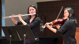 Duet for Flute and Viola Allegro