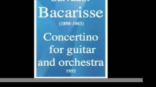 Concertino for guitar and orchestra