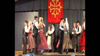 Ballets Traditionnels Catalans (comienza en el 2´25´´)