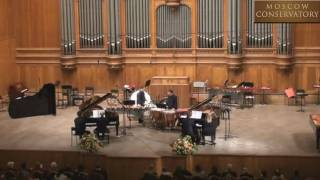 Sonata for Two Pianos and Percussion