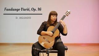 Le Fandango Varié, op. 16