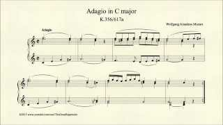 Adagio in C major, K 356