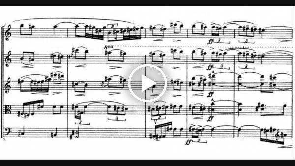 Interlude for Oboe and String Quartet, Op  21 - Video Musicalis