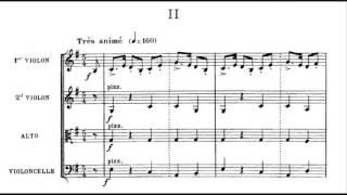 String Quartet No. 2 in E major