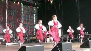Tallinn Estonia folk dance
