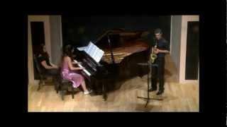 'Crimson Sunrise' for saxophone and piano