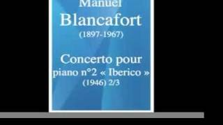 Concerto pour piano et orchestre n°2 «Ibérico» - 2º Mov