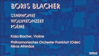 Symphony, Violin Concerto, Poème for Orchestra