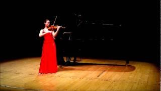 Estudio en terceras para violin y piano