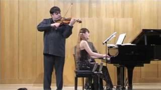 Paganini's Caprice No. 24 (Szymanowski)