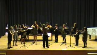Sonata in D major for two violins and piano
