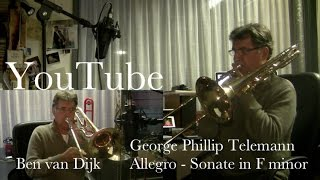 Sonate F minor – Allegro
