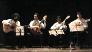 Paisaje cubano con rumba