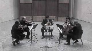 Quinteto para guitarra y cuarteto de cuerdas - Allegro