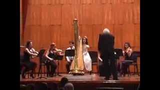 Harp concerto in D Major (solista de 13 1ños)