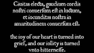 Cantiones Sacrae - Vide Domine afflictionem