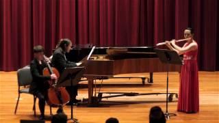 Sonata for Flute and Continuo, BWV 1034