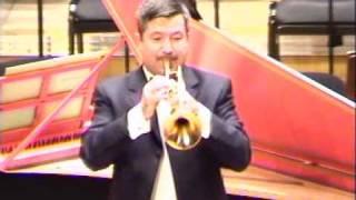 Gothic Concerto for solo trumpet – II Mov