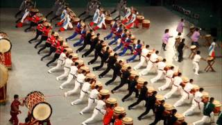 Japanese drum line
