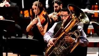 Concierto para Tuba y Orquesta (desde 1´23´´)