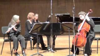 Haydn, Trio in D, flue cello & piano
