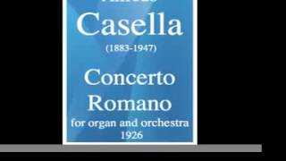 Concerto Romano, for orgue and orchestra