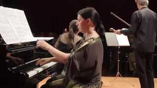 Concert for piano, violin and string quartet - I. Decidé - calme - animé