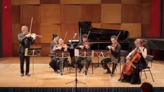 Concert for piano, violin and string quartet - IV. Finale: Tres animé
