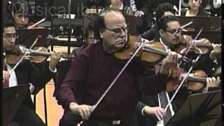 Concierto para Violín y Orquesta (comienza en el 2´04´´)