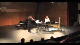 Duet for viola and percussion
