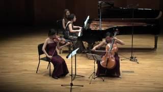 Piano trio in g minor No. 2 - I y II Mov