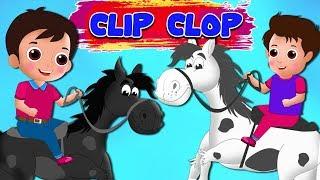 Clop Clip Clop fa el meu cavall negre