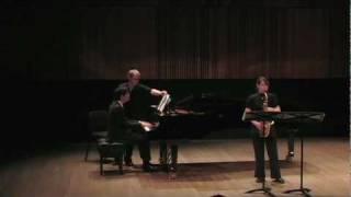 Sonata For Alto Saxophone and Piano - III Mov