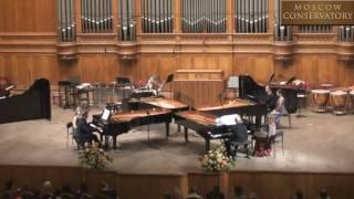 Quartet for four pianos
