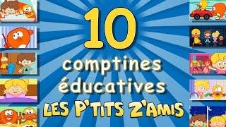 10 comptines éducatives