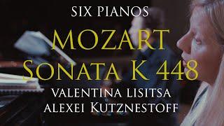 Sonata para dos pianos, K 448, II Mov