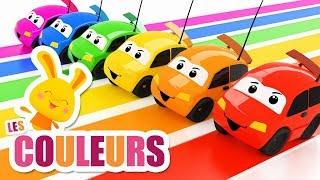 Les couleurs avec les voitures véhicules