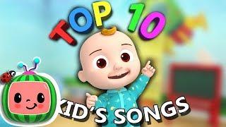 Top 10 Popular Kids Songs + More Nursery Rhymes