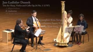 Trio for Harp, Violin and Cello
