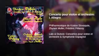 Concerto pour violon et orchestre: I. Allegro