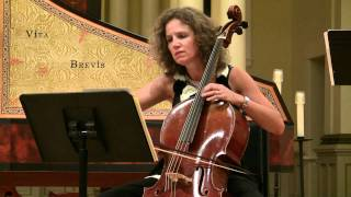 Sonata III for Violoncello and Basso Continuo in C Major – Andante & Allegro – 1 of 3