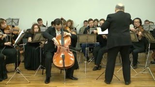 Cello Concerto with Cantus firmus orchestra